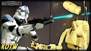 Star Wars Battlefront 2 TOP 5 KILLS OF THE WEEK (CLONE MULTI HEADSHOTS)