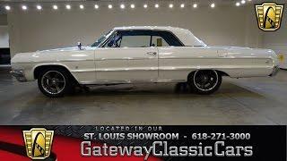 1964 Chevrolet Impala Stock #7137 Gateway Classic Cars St. Louis Showroom