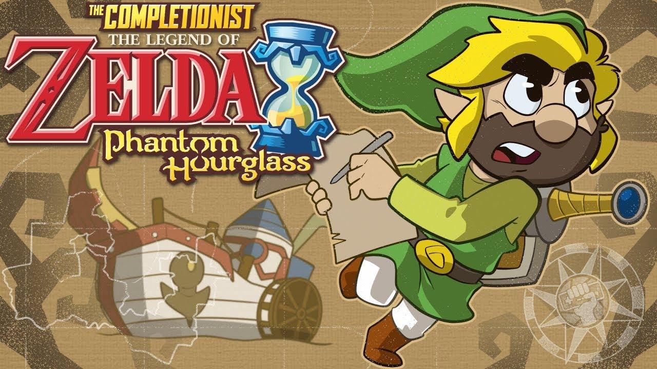 Legend Of Zelda Phantom Hourglass | The Completionist