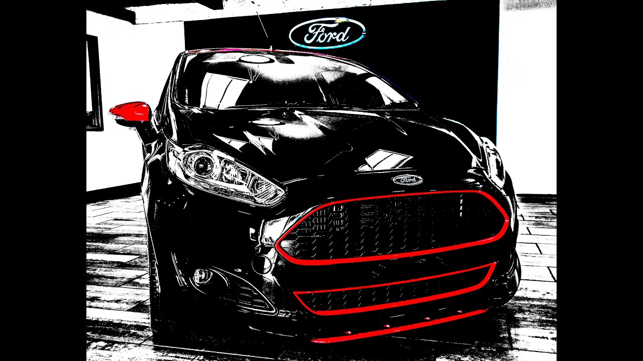 ford fiesta zetec s black edition at swanson ford youtube. Black Bedroom Furniture Sets. Home Design Ideas