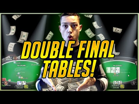 DOUBLE Final Table - $1050 Warm-up & $109 Bounty (2X FT Grind. Twitch Poker Highlights)