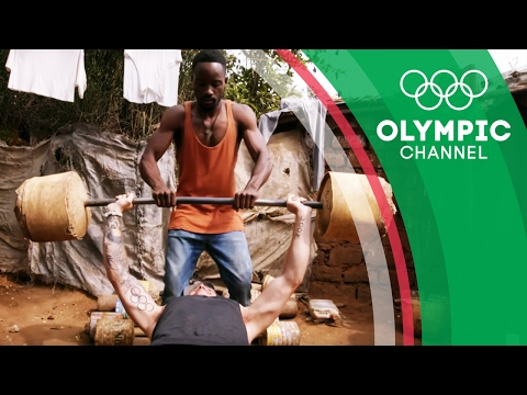 Nakivale Refugees Create Own D.I.Y. Gym and Weights | Camps to Champs