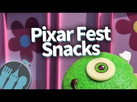 Disneyland Pixar Fest Must-Eats!