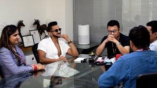 Attending A Meeting in Bathrobe | by Vinay Thakur