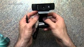 Logitech HD Pro Webcam C920 Review + Video Sample