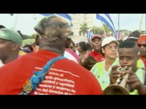 May Day rally celebrates Cuban revolution