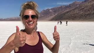 "German in 1 Minute: Das ""Salzland"" (The ""salt flats"" in Death Valley, California)"