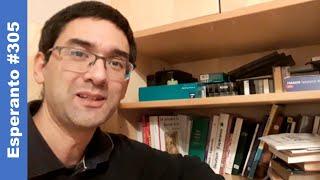 [#305] Miaj esperantaj libroj | Esperanto-vlogo