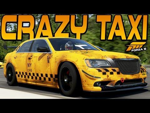 Forza 6 CRAZY TAXI CHRYSLER