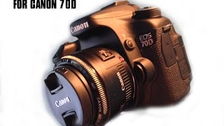 Best Video Settings for Canon 70D