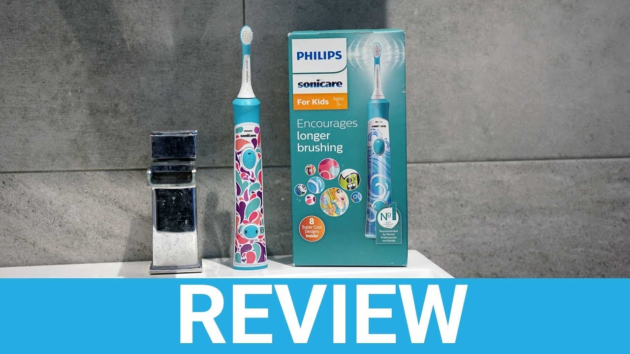 Philips Sonicare Kids (HX6311 17) Electric Toothbrush Review - YouTube acb07a5dce9ba