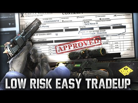 CS:GO - Cheap Low Risk Tradeup Contract Under $2 #29