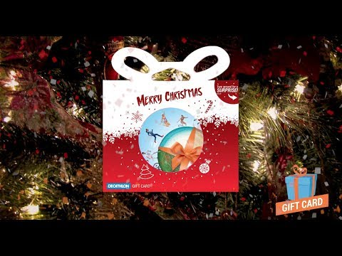 6c46eeeef5 Decathlon UK: Christmas Gift Card - YouTube