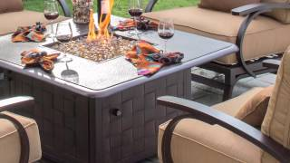 Madison 5-piece Conversational Patio Seating with Fire Table