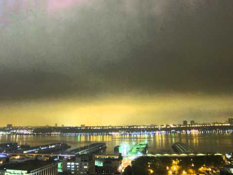 Hudson River Time Lapse - May 4-7, 2012