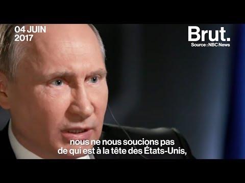 L'interview sans langue de bois de Vladimir Poutine