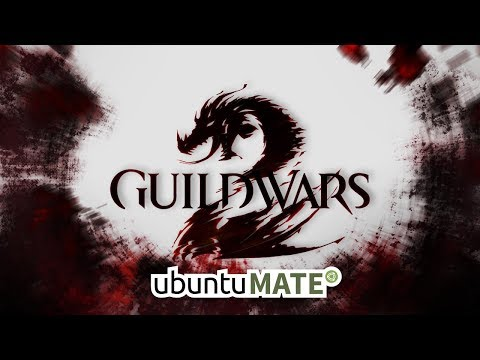 Guild Wars 2 Running On Ubuntu Mate Linux Nice Free To Play