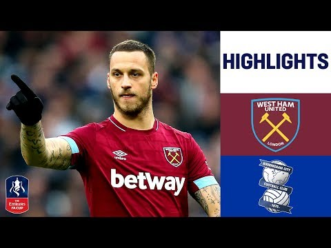 West Ham 2-0 Birmingham City | Carroll Heads Hammers into Fourth Round | Emirates FA Cup 18/19