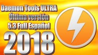 Descargar DAEMON Tools Ultra 5.0 + Activado de por vida | Para Windows 10/8/7 | Full Español 2018