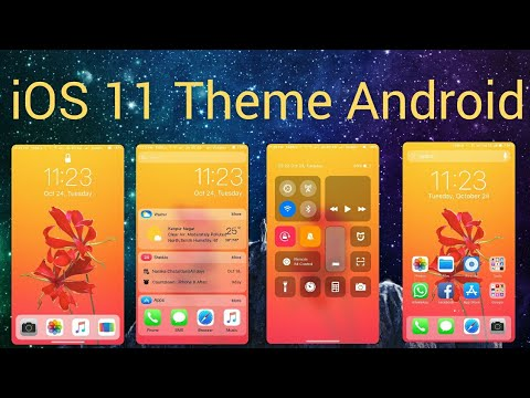 IOS 11 Theme for Android (Download Link) iPhone X Theme