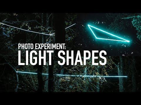 Creating Shapes with Lights   Photography Tips thumbnail