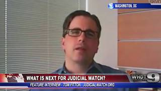 EXCLUSIVE: Judicial Watch Challenges Obama Admin on IRS, Benghazi - Tom Fitton #N3