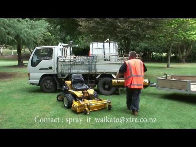Lawn Care - Walker Mower Quick Hitch Sprayer