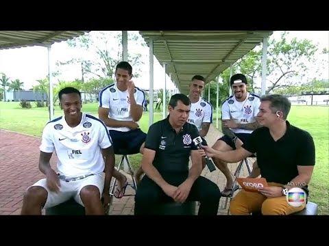GE - Ivan Moré entrevista Carille, Gabriel, Pablo, Fagner e Jô (16/11/2017)