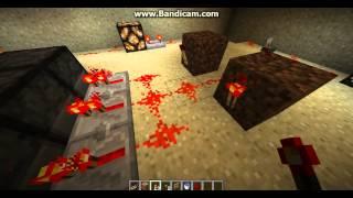 как сделать бесконечный механизм-повторитель в Minecraft 1.7.5.Minecraft механизмы