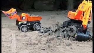 Excavator Ride On, Trucks Construction vehicle RC Dump
