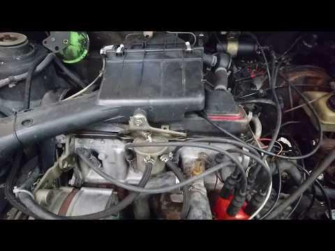 Motor VW Caribe GT 1984 /mk1 golf engine.