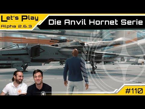 Star Citizen - Die Anvil Aerospace Hornet Serie | Let's Play [Deutsch/German]