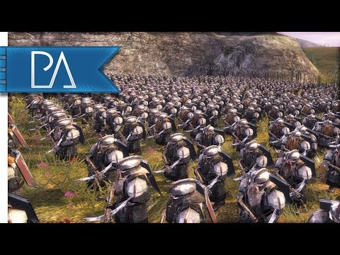 Battle for the Iron Hills: March of the Dwarves - Third Age Total War Reforged Gameplay