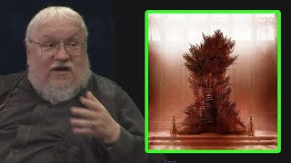 George RR Martin on how the Iron Throne is supposed to look