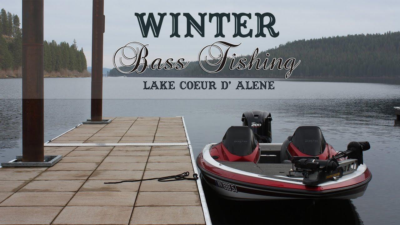 Winter Smallmouth Bass Fishing [Lake Coeur d' Alene, Idaho]