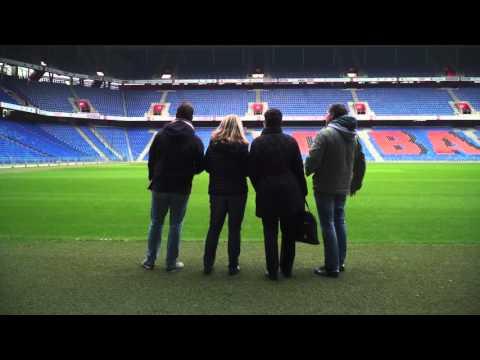 Vorbereitungen Für Den UEFA Europa League Final Im St. Jakob-Park Basel
