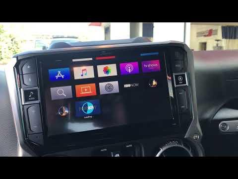 Apple TV Alpine Jeep Restyle i209-wra via hdmi 12 volt car