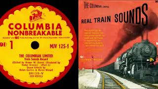 THE COLUMBIAN LIMITED / TRAIN SOUND EFFECTS / COLUMBIA RECORDS