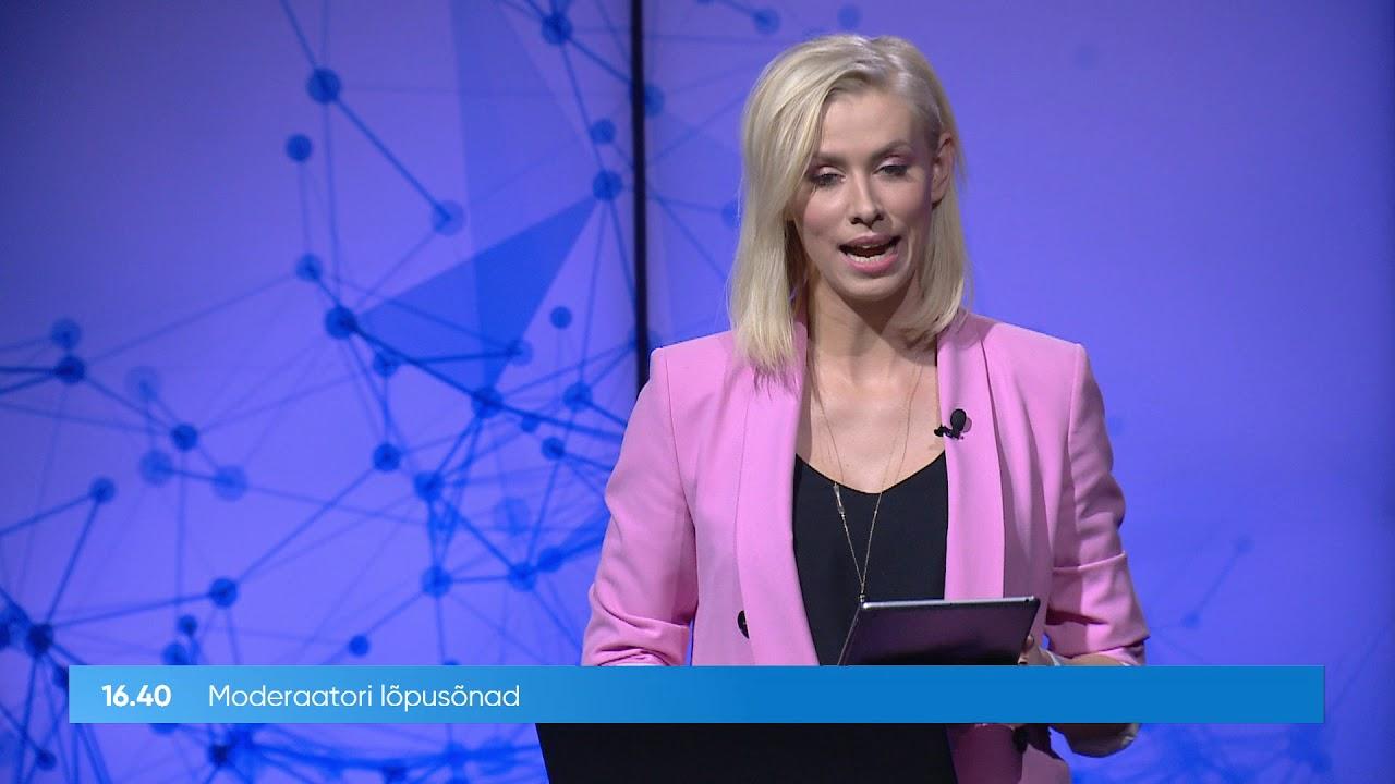 RIA infopäev 2020 - teise päeva sissejuhatus ja esimese päeva kokkuvõte, moderaator Eeva Esse