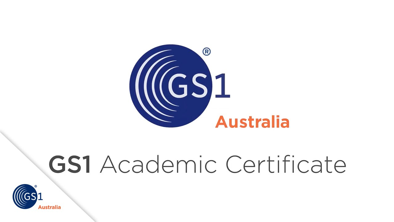 Gs1 Academic Certificate Youtube