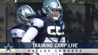 Training Camp LIVE: Defense Shines In Compete | Dallas Cowboys 2018