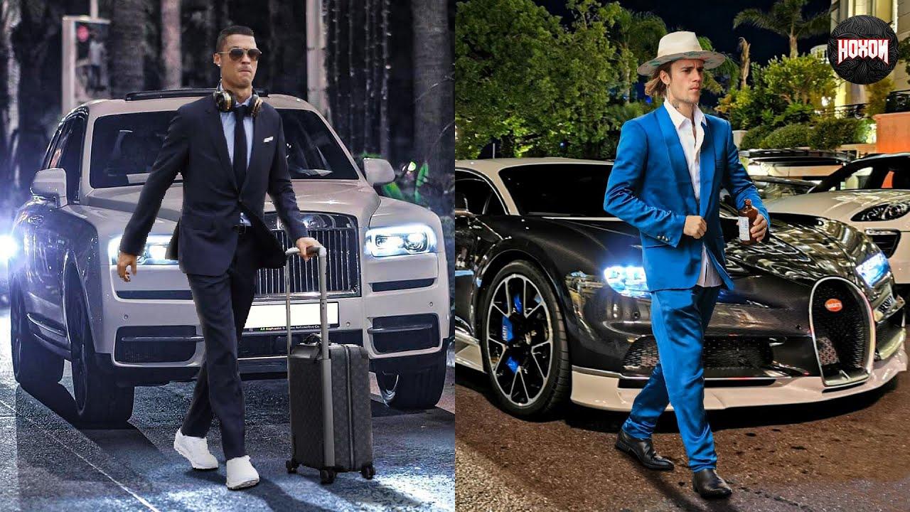 Download Justin Bieber Cars Vs Cristiano Ronaldo Cars
