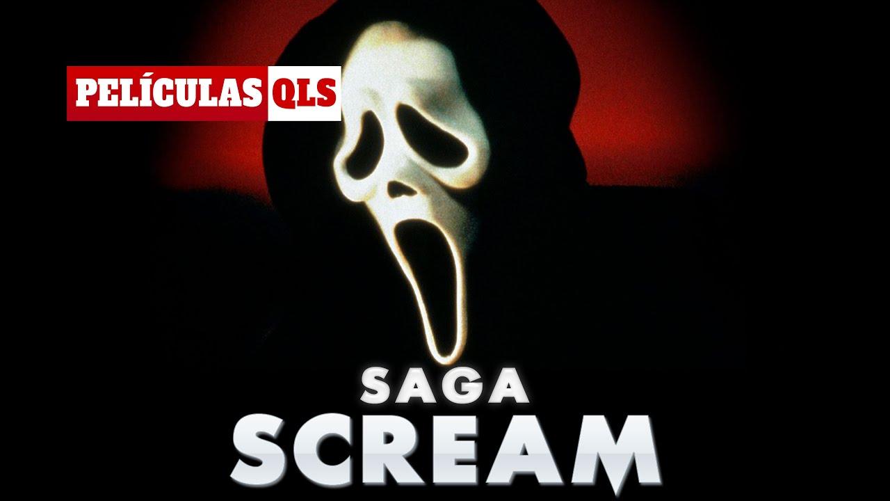 Peliculas QLS - SCREAM (La saga)