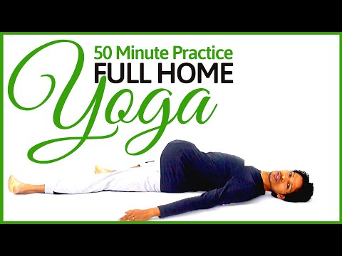 Full Home Alignment Yoga Practice - Yoga with Amit