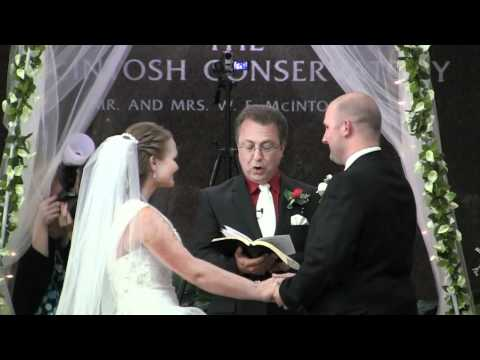 The Marriage Ceremony of Sarah Duvall and Travis Locke - High Quality