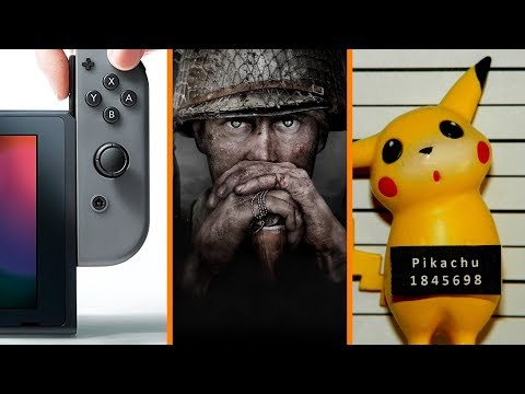 Nintendo Switch Gets Gud + Call of Duty Real World HEIST + Pikachu Arrested