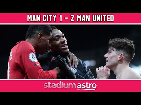 Manchester City 1 - 2 Manchester United   EPL Highlights   Astro Supersport