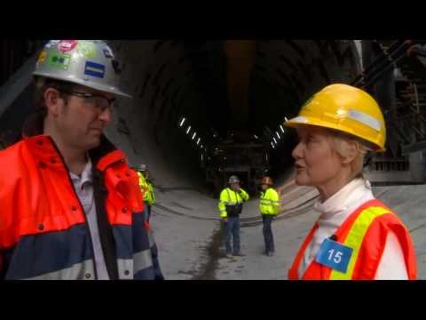 Tour of the world's largest TBM