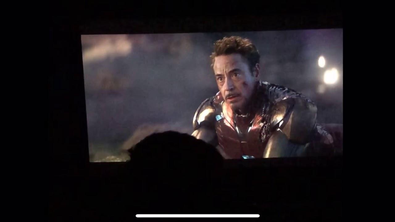 Avengers- Endgame Iron Man Sacrifice Battle Theater Reaction