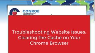 Troubleshooting: Clearing the Cache on Your Chrome Browser